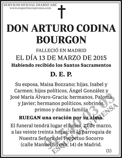 Arturo Codina Bourgon